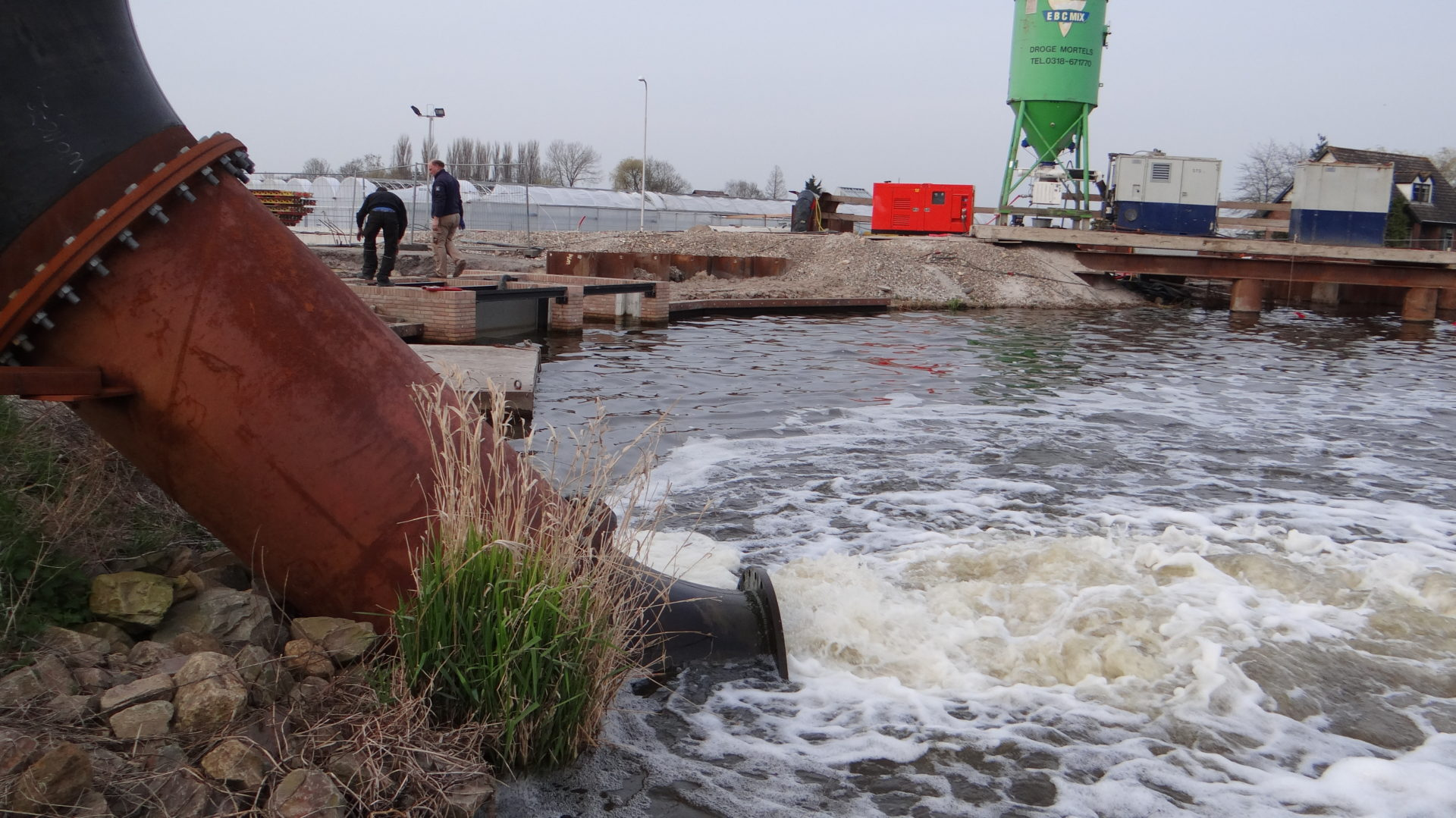 afvalwaterpompen afvoeren
